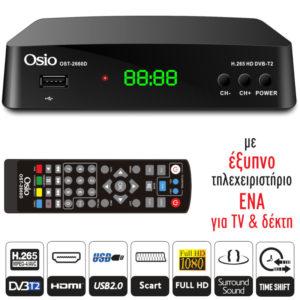 Osio OST-2660D DVB-T/T2