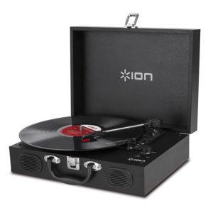 ION Vinyl Transport Black Φορητό Πικάπ