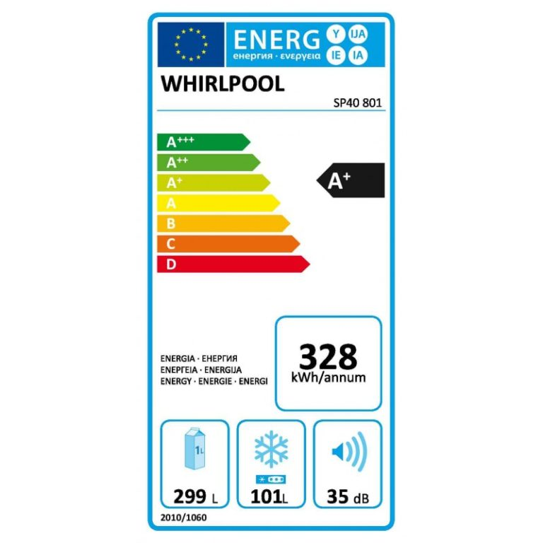 Whirlpool SP40 801 EU Εντοιχιζόμενος Ψυγειοκαταψύκτης A+