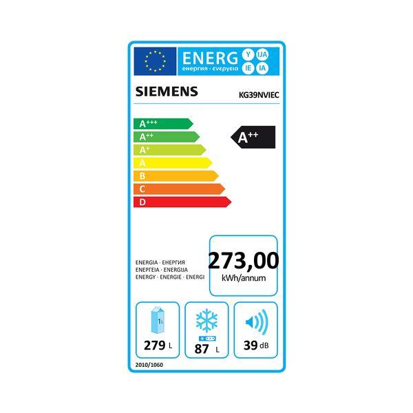 Siemens KG39NVIEC Ψυγειοκαταψύκτης