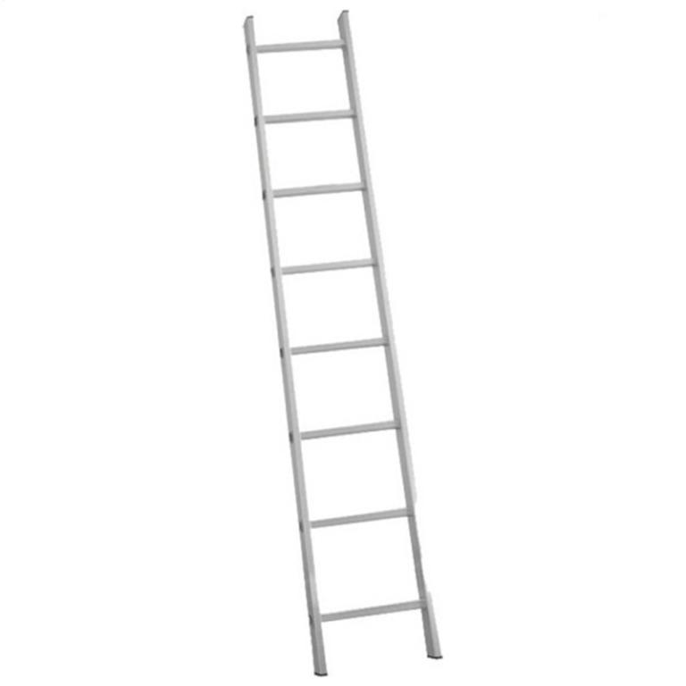 BORMANN BHL1013 Σκάλα Αλουμινίου Μονή 13 Σκαλιά 3.5m (022848)