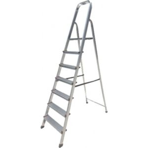 BORMANN BHL5004 Σκάλα Αλουμινίου 4+1 Σκαλιά (022794)