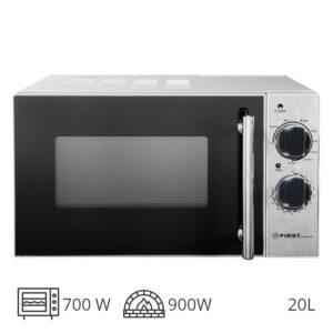 First Austria FA-5002-4 Inox φούρνος grill 900W & μικροκυμάτων 700W – 20L