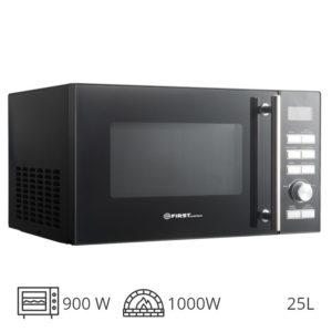 First Austria FA-5002-5 Inox φούρνος grill 1000W & μικροκυμάτων 900W – 25L
