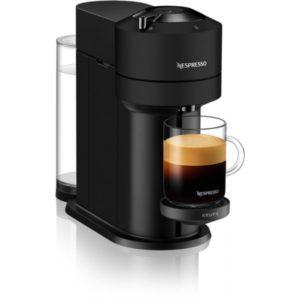 Krups Vertuo Next Καφετιέρα 1500W Matt Black XN910NS