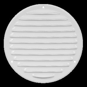 Europlast MR160 – Περσίδα Εξαερισμού Μεταλλική με Πλέγμα Προστασίας