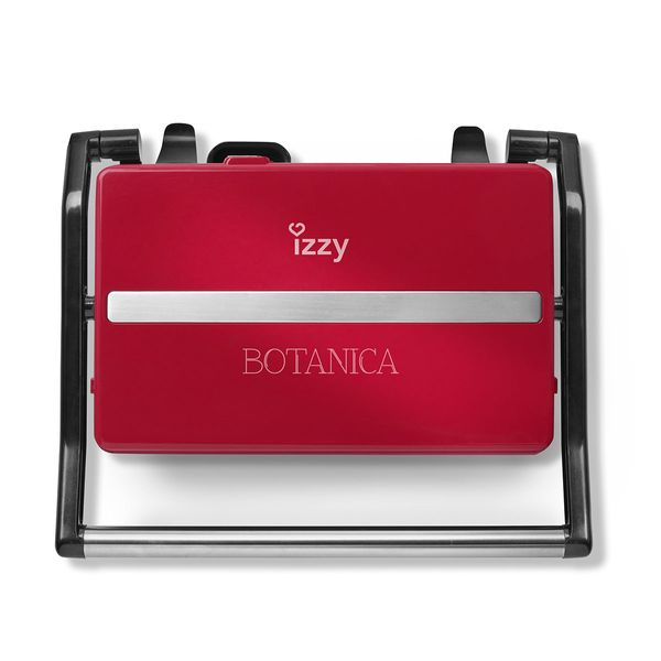 Izzy Panini Botanica Red IZ-2005 Τοστιέρα-Γκριλιέρα