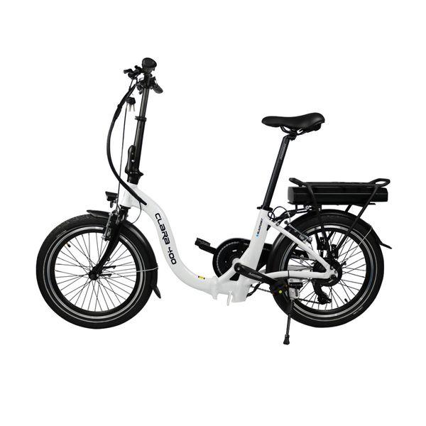 "Blaupunkt Clara 400 20"" Λευκό Ηλεκτρικό Ποδήλατο"