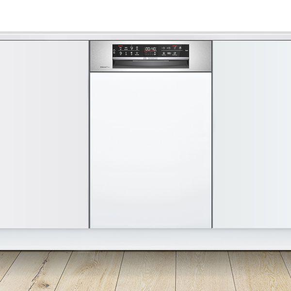 Bosch SPI6EMS23E Inox Εντοιχιζόμενο Πλυντήριο Πιάτων 45cm