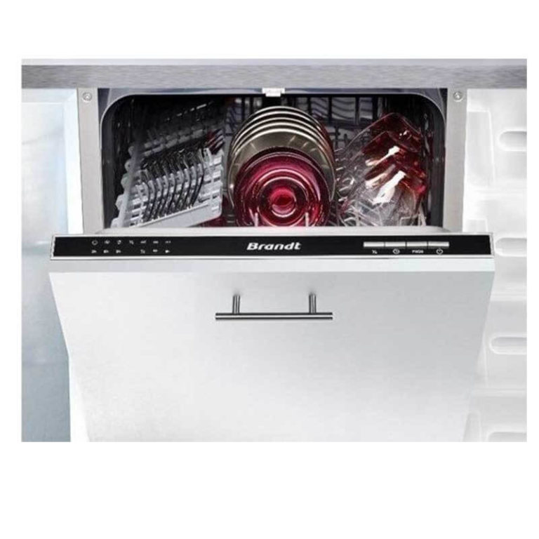 Brandt VS1010J Πλυντήριο Πιάτων Πλήρως Εντοιχιζόμενο