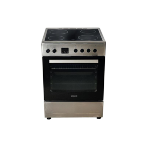 Davoline DSC 900 IX Κουζίνα 60lt με Εστίες Κεραμικές