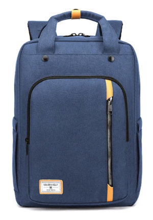 ARCTIC HUNTER τσάντα πλάτης GB00363-BL με θήκη laptop, αδιάβροχη, μπλε