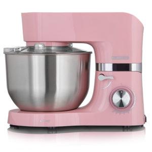 Heinrich's KM 6278 Pink Κουζινομηχανή 1300W με Ανοξείδωτο Κάδο 6.5lt
