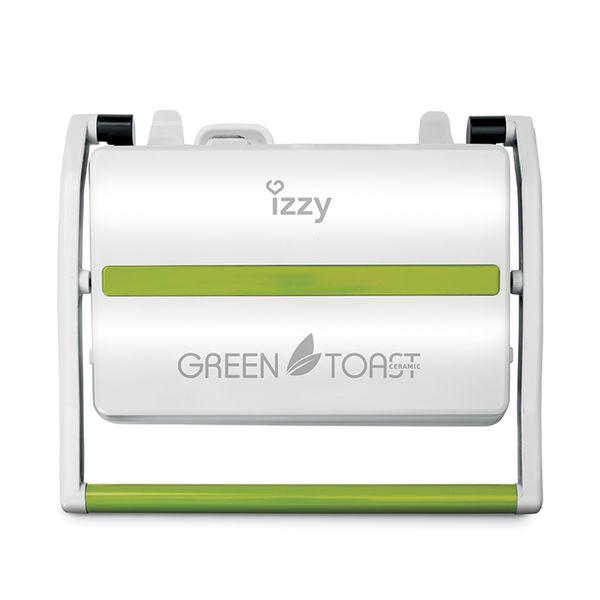 Izzy IZ-2006 Panini Ceramic Green Toast Τοστιέρα