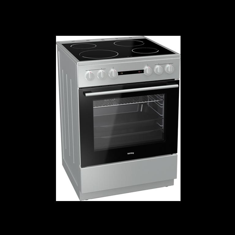 Korting KEC 6141 IS 729337 Κουζίνα Κεραμική Inox