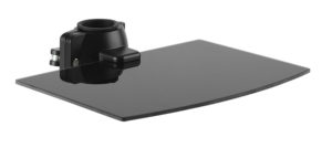 BRATECK ράφι στήριξης LP61-DVD για συσκευές προβολής, έως 5kg, μαύρη