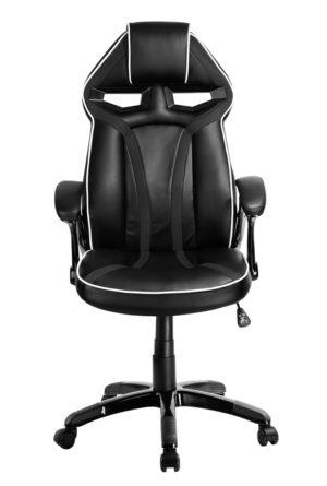 POWERTECH Καρέκλα γραφείου PT-723, ρυθμιζόμενη, με υποβραχιόνια, μαύρη
