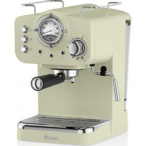 Swan Pump Espresso Coffee Machine Πράσινο #SK22110GN