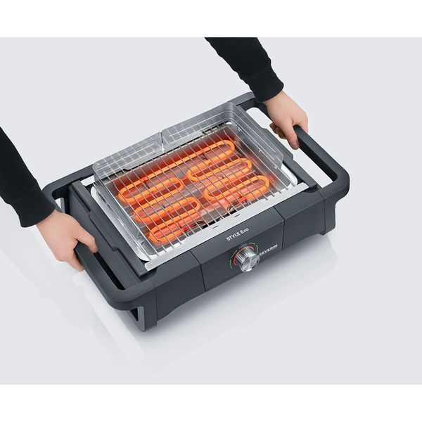 Severin PG 8123 Style Evo Ηλεκτρική Ψησταριά 2500W