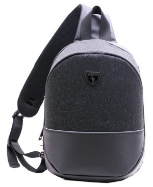 ARCTIC HUNTER τσάντα Crossbody XB00050-BK, tablet, αδιάβροχη, μαύρη