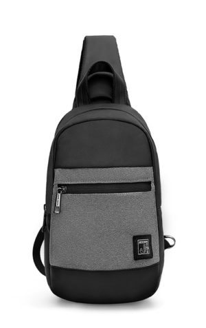 ARCTIC HUNTER τσάντα Crossbody XB0060-DG, αδιάβροχη, γκρι