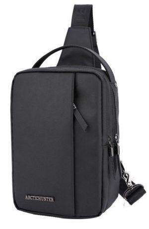 ARCTIC HUNTER Τσάντα Crossbody XB130027-BK, αδιάβροχη, μαύρη
