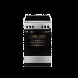 Zanussi ZCV550G1XA Κουζίνα 54lt με Εστίες Κεραμικές