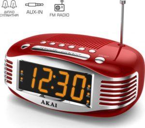 akai-ce1500-rd-ψηφιακό-ξυπνητήρι-ραδιόφωνο-euragora.gr
