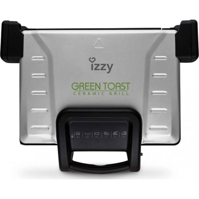 Izzy Green Toast XL Τοστιέρα με Αποσπώμενες Πλάκες