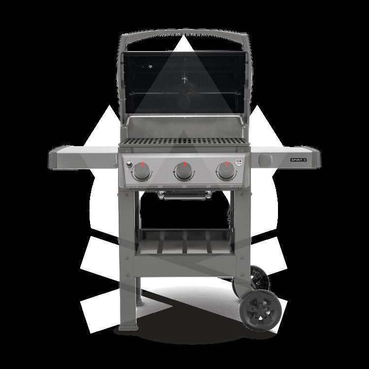 Spirit II E-310 GBS Weber Ψησταριά Υγραερίου