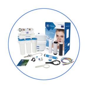 Aqua Filter RX55249516 Με Αντλία Οικιακή Μονάδα Αντίστροφης Όσμωσης 5 Σταδίων