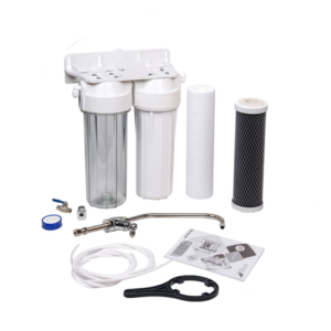 Aqua Filter FP2-W-K1 Σύστημα Φίλτρανσης Νερού κάτω πάγκου 2 σταδίων