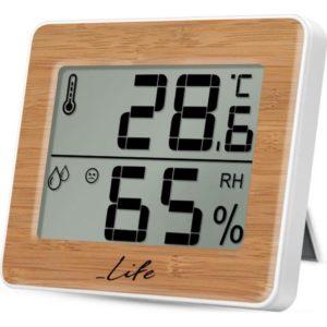 WES-107 Ψηφιακό θερμόμετρο / υγρόμετρο