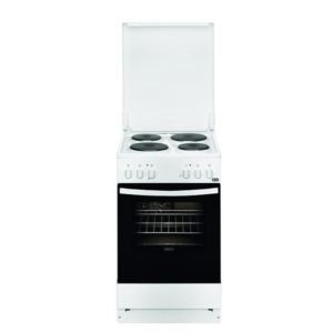Zanussi ZCE550G1WA Κουζίνα 54lt με Εστίες Εμαγιέ