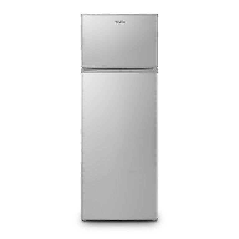 Inventor Ψυγείο Δίπορτο Inox DP1590S