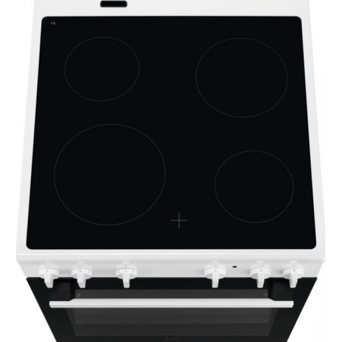 AEG CCB6200ABW Κουζίνα 73lt με Εστίες Κεραμικές