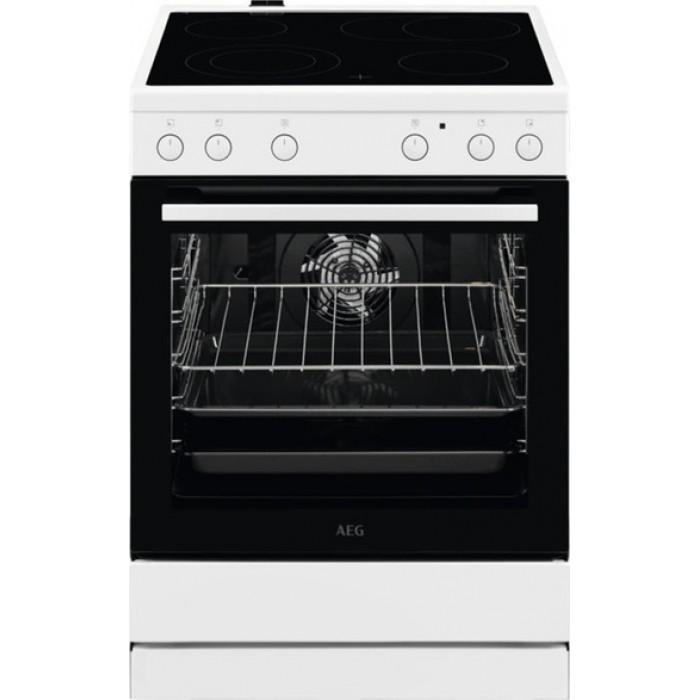 AEG CCB6400MBW Κουζίνα 73lt με Εστίες Κεραμικές