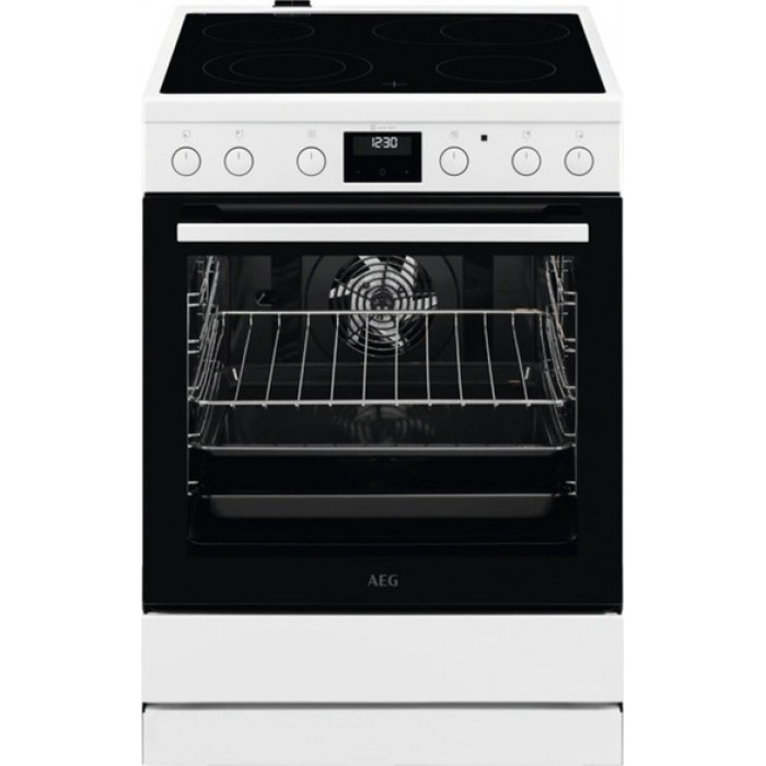AEG CCB6442MBW Κουζίνα 73lt με Εστίες Κεραμικές
