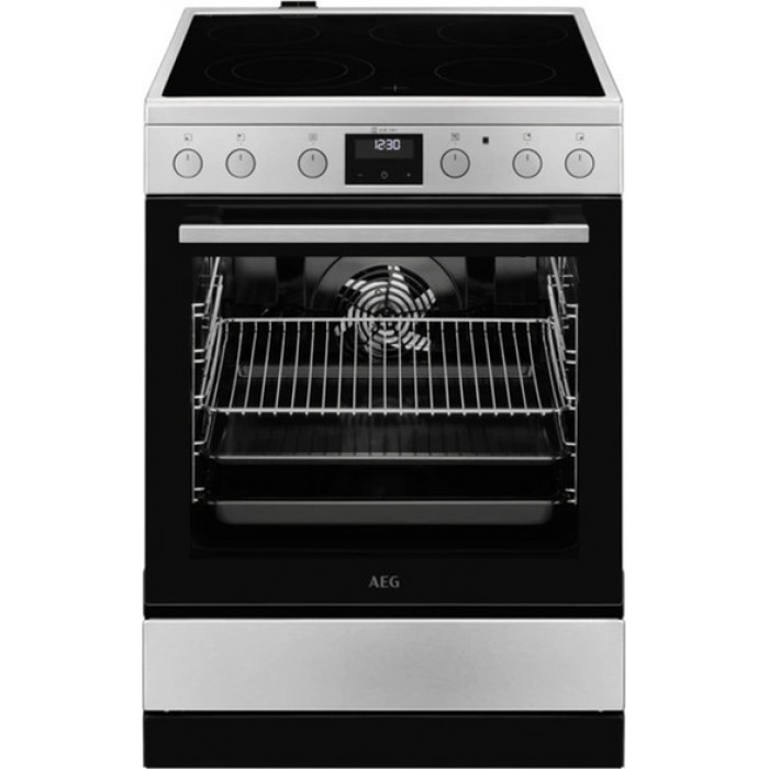 AEG CCB6446ABM Κουζίνα 73lt με Εστίες Κεραμικές