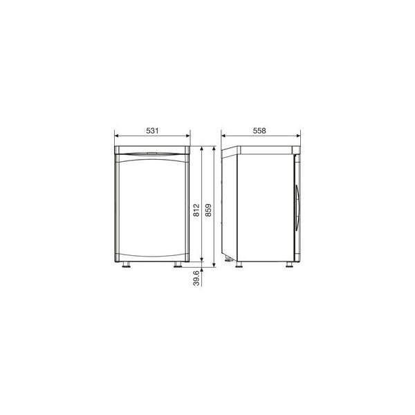 Dometic RGE 2100 Φορητό Ψυγείο Υγραερίου / 220V 102lt