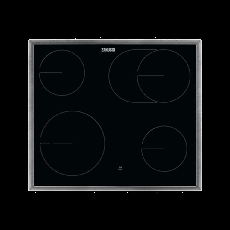 Zanussi ZHDN670X Αυτόνομη Κεραμική εστία