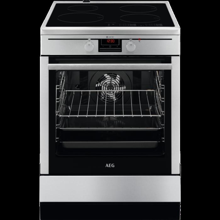 AEG CIB6441ABM Κουζίνα 73lt με Εστίες Επαγωγικές