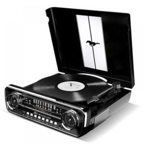 ION Audio Mustang LP Black Πικάπ με Προενίσχυση και Ενσωματωμένα Ηχεία